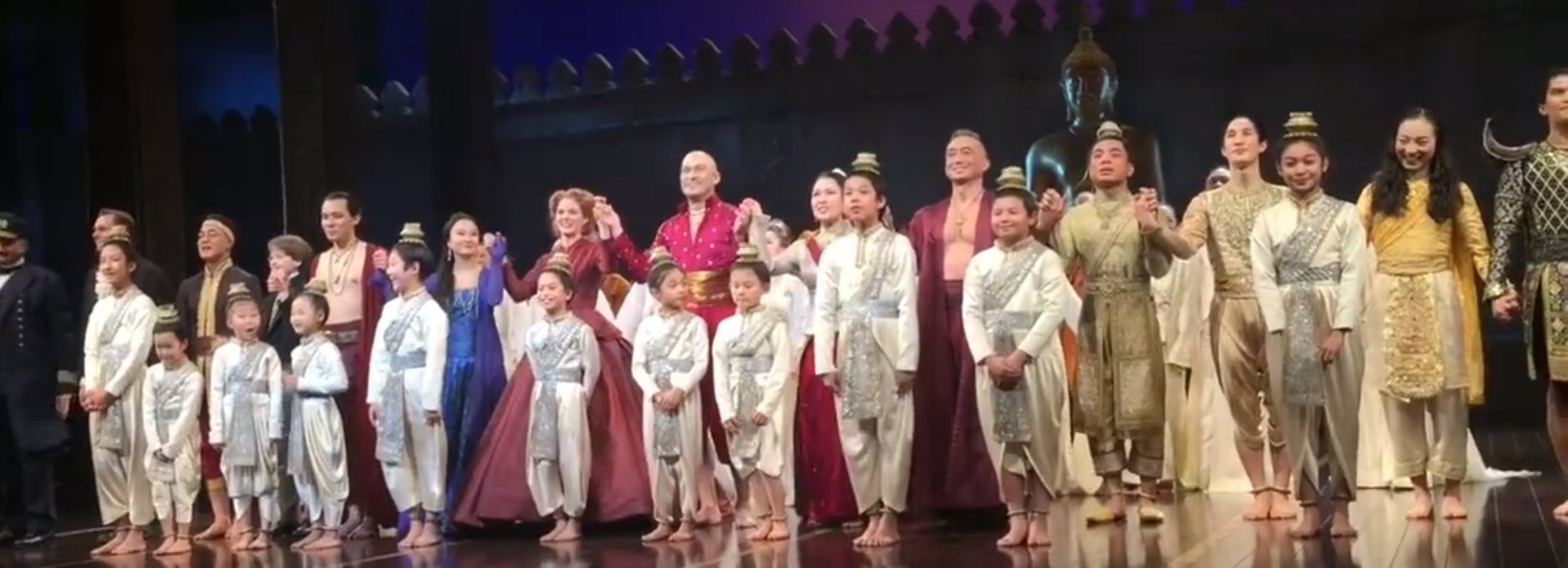 THE KING AND I curtain call