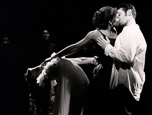 Audra McDonald and Anthony Crivello. Photo by Joan Marcus.