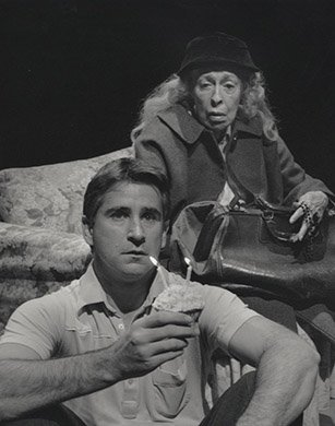 Anthony LaPaglia and Eileen Heckart. Photo by Ken Howard.