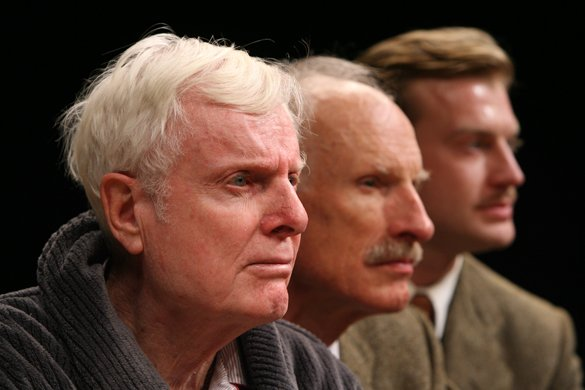 John McMartin, James Rebhorn and Robert Eli