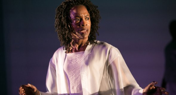 Charlayne Woodard. Photo by Erin Baiano.