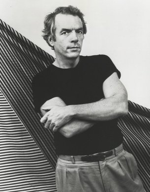 Spalding Gray. Photo by Paula Court.