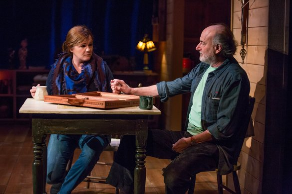 Mare Winningham and Peter Friedman. Photo by Jeremy Daniel.