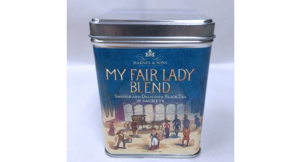 Harney & Sons MY FAIR LADY Blend Tea Tin (Buy on shoplct.com)