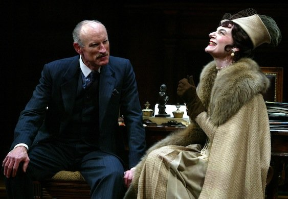 James Rebhorn and Marian Seldes