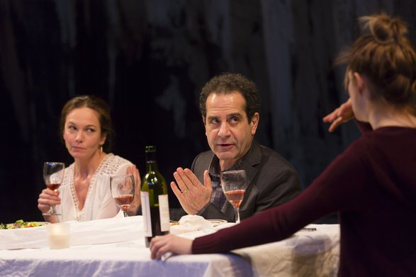 Diane Lane and Tony Shalhoub. Photo by T. Charles Erickson.