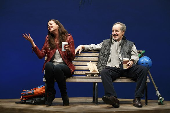 Tammy Blanchard and John Pankow. Photo by Joan Marcus.