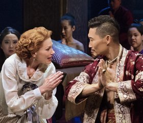 THE KING AND I Production Photos with Marin Mazzie and Daniel Dae Kim