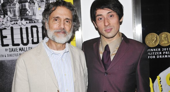 Chris Sarandon and Joseph Keckler. Photo by Jenny Anderson.