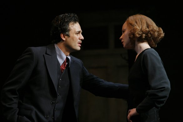 Mark Ruffalo and Lauren Ambrose