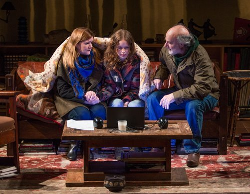 Mare Winningham, Naian González Norvind, Peter Friedman. Photo by Jeremy Daniel.