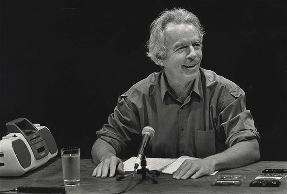 Spalding Gray. Photo by Paula Court