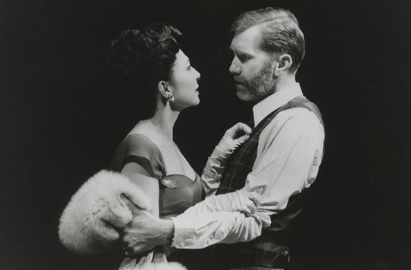 Donna Murphy and Harry Groener. Photo by Joan Marcus.