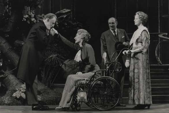 Fritz Weaver, Marian Seldes, Simon Jones and Frances Conroy