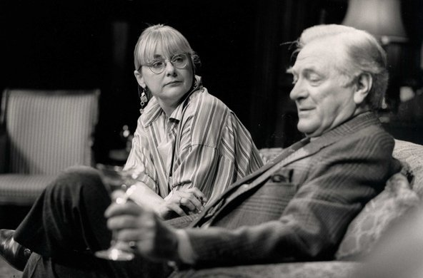 Mary Beth Hurt and George Grizzard. Photo by Joan Marcus.