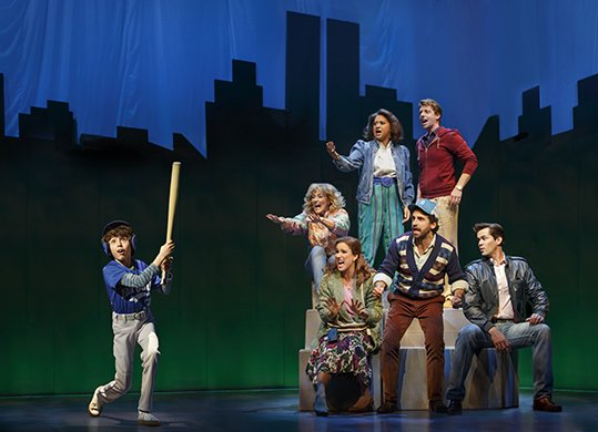 The cast of Falsettos. Photo by Joan Marcus