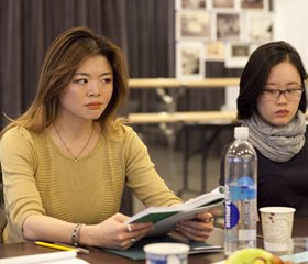 BULL IN A CHINA SHOP First Rehearsal Photos