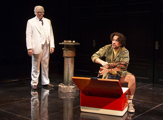John Larroquette and Will Swenson. Photo by T. Charles Erickson.
