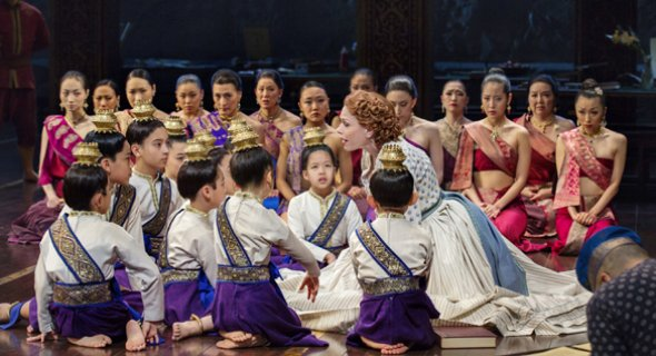 The company of THE KING AND I. Photo by Paul Kolnik.
