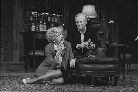 Elaine Stritch and George Grizzard. Photo by Joan Marcus.