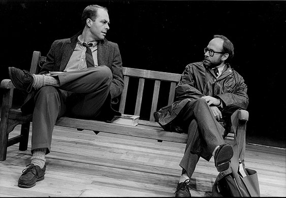 John Bedford Lloyd and Bob Balaban. Photo by Brigitte Lacombe.