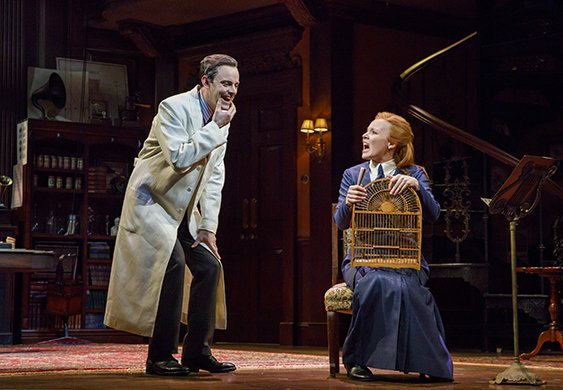 Harry Hadden-Paton and Lauren Ambrose. Photo by Joan Marcus.