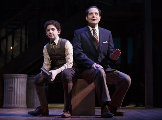Matthew Schechter and Tony Shalhoub