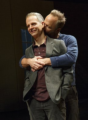 Patrick Breen and John Benjamin Hickey. Photo by Joan Marcus.