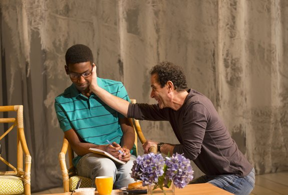 Mamoudou Athie and Tony Shalhoub. Photo by T. Charles Erickson.