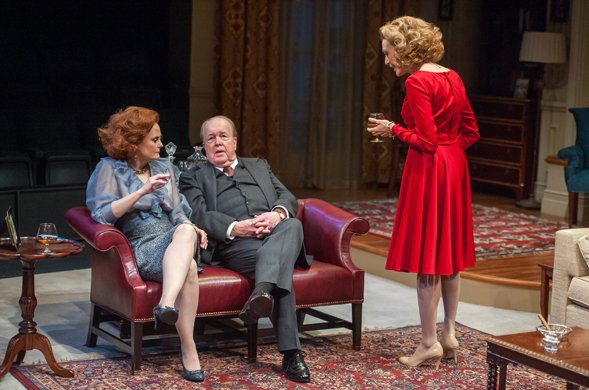 Barbara Garrick, John Aylward and Jan Maxwell
