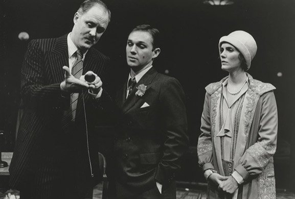 John Lithgow, Richard Thomas, and Julie Hagerty. Photo by Brigitte Lacombe.