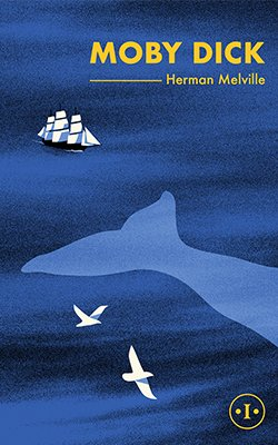 Book cover of MOBY DICK by Herman Melville