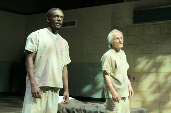 Chris Chalk and David Patrick Kelly