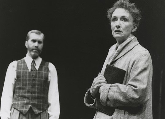 Harry Groener and Kathleen Chalfant. Photo by Joan Marcus.