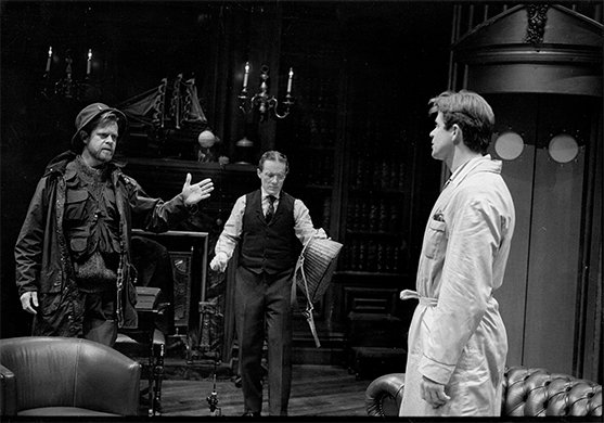 Treat Williams, William H. Macy, and Steven Goldstein. Photo by Brigitte Lacomb.