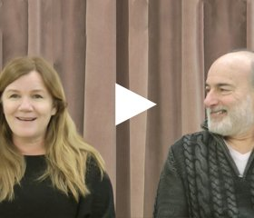 An interview Peter Friedman and Mare Winningham