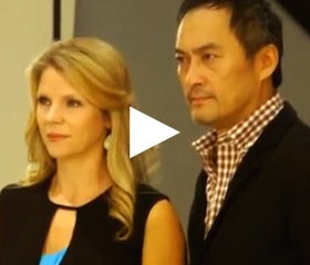 Kelli O'Hara and Ken Watanabe talk about THE KING AND I