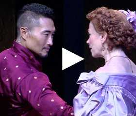 THE KING AND I Montage with Marin Mazzie and Daniel Dae Kim