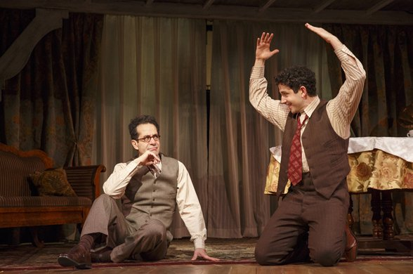Tony Shalhoub and Santino Fontana
