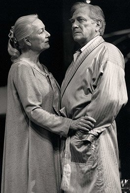 Rosemary Harris and George Grizzard. Photo by Joan Marcus.