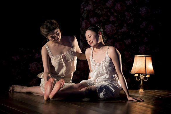 Ruibo Qian and Michele Selene Ang. Photo by Jenny Anderson.