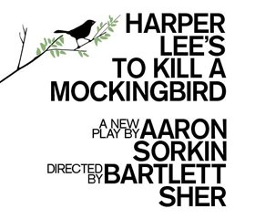 TO KILL A MOCKINGBIRD announcement show art