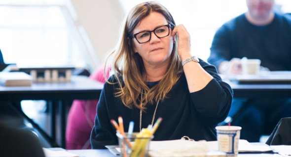 Mare Winningham. Photo by Jenny Anderson.