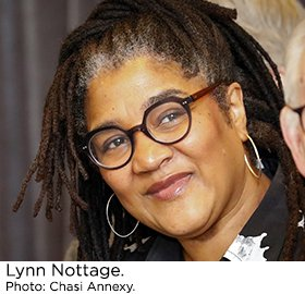 Lynn Nottage. Photo by Chasi Annexy.