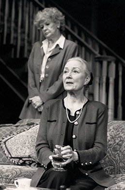 Rosemary Harris and Elaine Stritch. Photo by Joan Marcus.