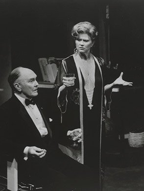 Richard Clarke and Joyce Van Patten. Photo by Ken Howard.