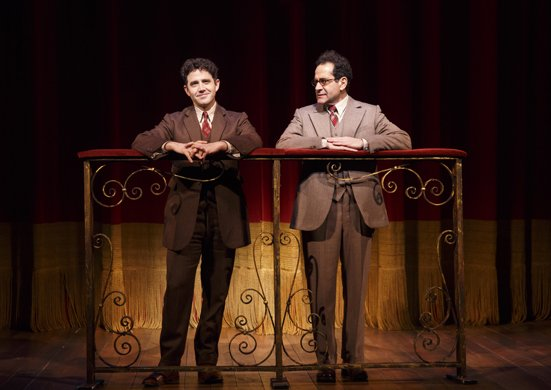 Santino Fontana and Tony Shalhoub