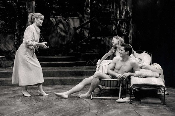 Debra Monk, Adam Trese, and Ana Reeder. Photo by Joan Marcus.