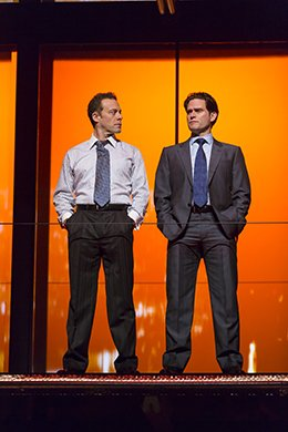 Matthew Rauch and Steven Pasquale. Photo by T. Charles Erickson