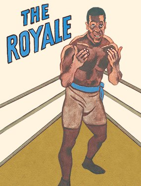 THE ROYALE show poster